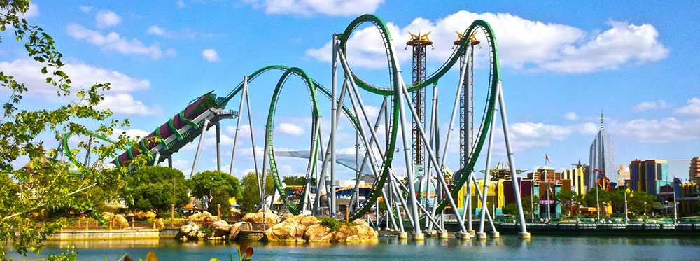 Planned Insanity: The Best Roller Coasters In America
