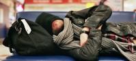 Sleeping at the Airport