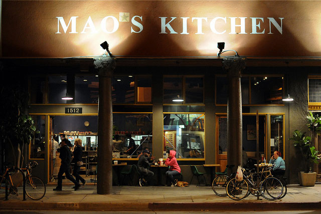 Mao's Kitchen Restaurant in West Hollywood