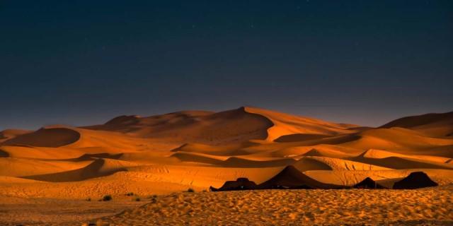 Backpacking and Camping at the Sahara Desert
