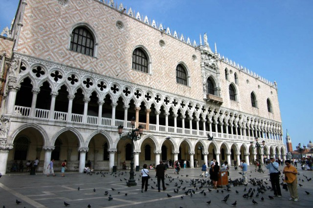Travel and Backpacking in Doge's Palace, Venice, Italy