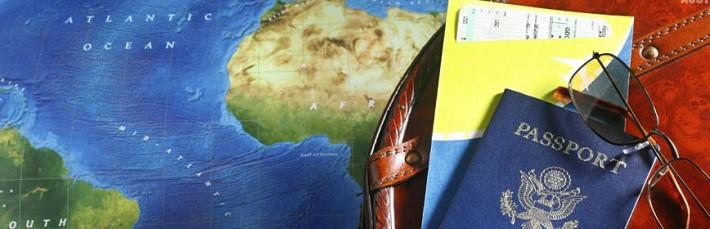 Travel checklist with Passport