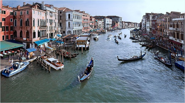 Travel and Backpacking The Grand Canal, Venice, Italy