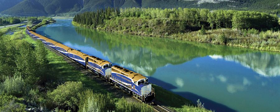 Travel Guide : Canada By Train / Rail