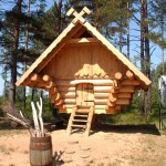 Hotel Alternative: Log Cabin