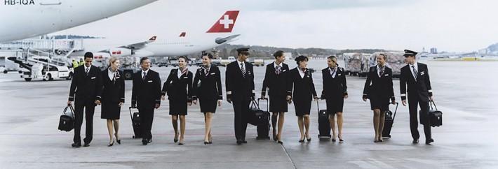 Flight Crew walking at Airport