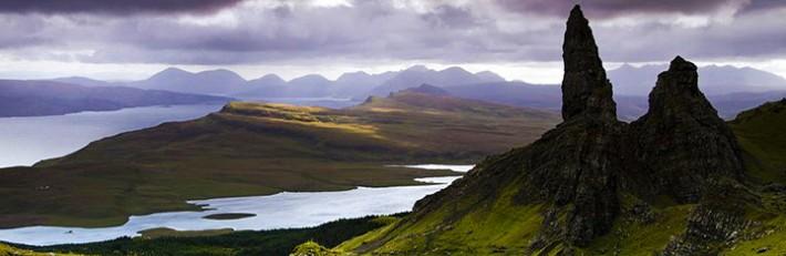 Isle of Skye Island, Scotland