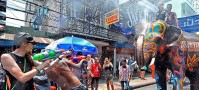Songkran Festival, Khao San Road, Bangkok, Thailand