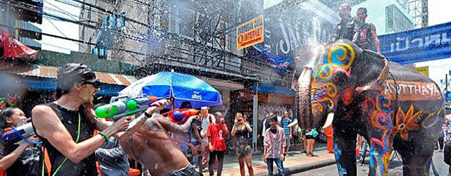 Experiencing The Songkran Festival