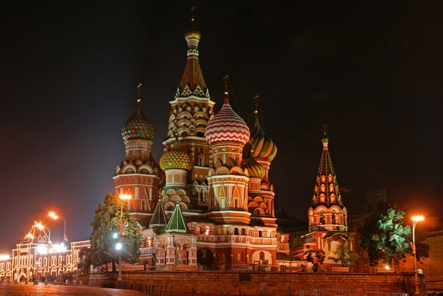 Travel to St Basil's Cathedral