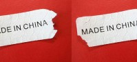 Made in China Sticker Tag