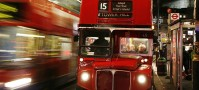London england bus
