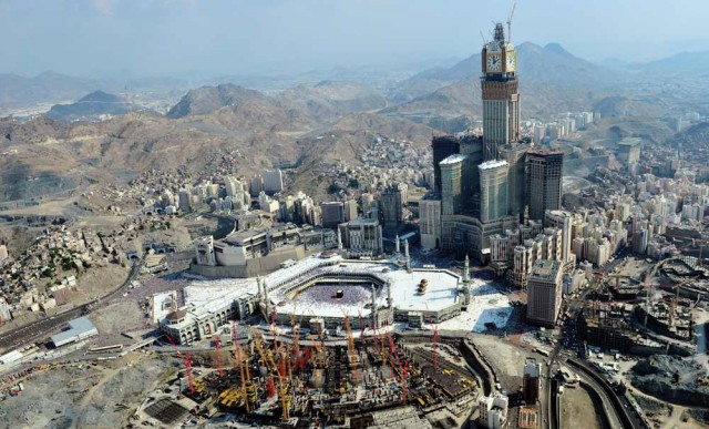Biggest Hotels in the World : Mecca Royal Hotel Clock Tower
