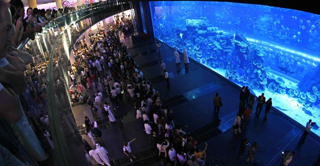 Travel to the Dubai Mall, Dubai, UAE