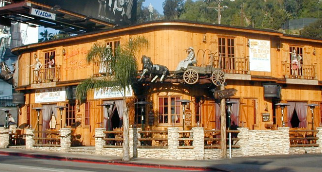 Saddle Ranch Chop House Restaurant in West Hollywood