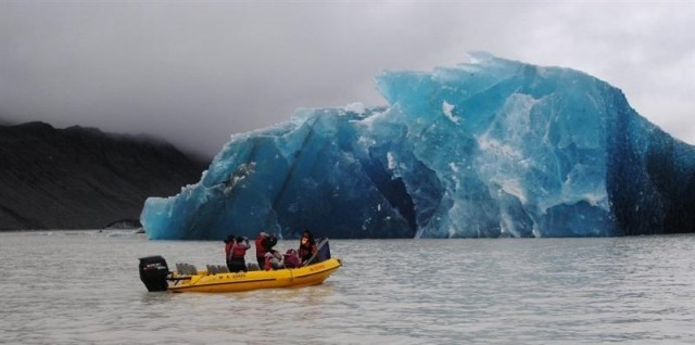 Travel to Alaska for the Glacier Explorer