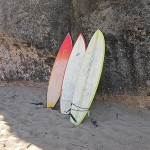 Surfboards in Puerto Rico