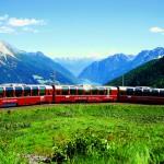 Switzerland Train Travel